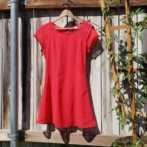 Divided | Dress | Red